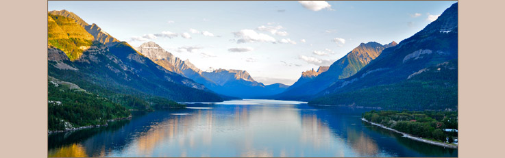Image of the Front Range of Waterton